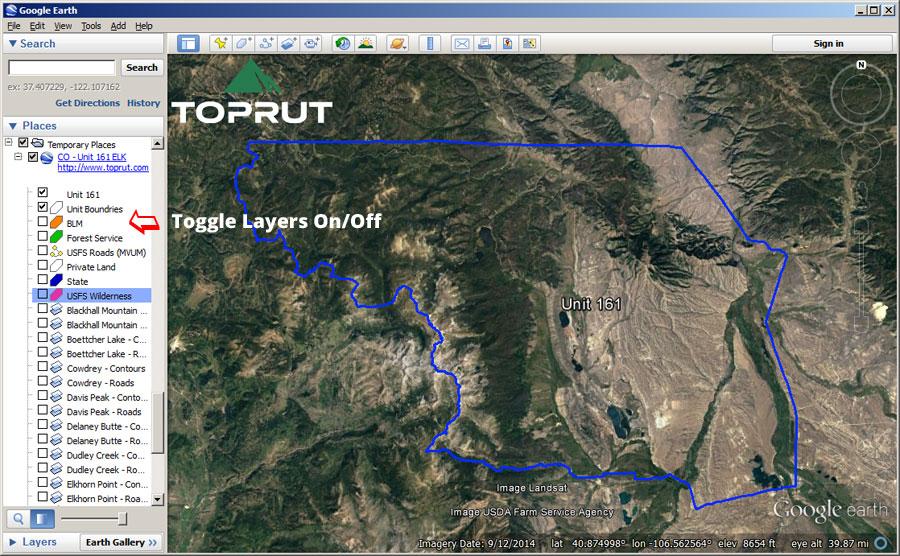 Unit Maps Toprut
