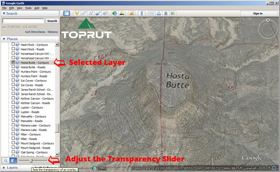Unit Maps Toprut - Us topo maps google earth