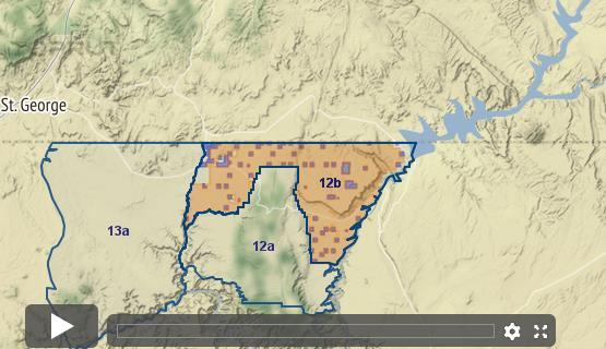 Map Of Arizona Hunting Units.Arizona Elk Unit 12b Draw Odds Tag Information And More
