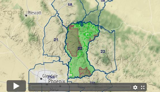 Map Of Arizona Hunting Units.Arizona Elk Unit 22 Draw Odds Tag Information And More