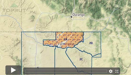 Unit 2b New Mexico Map.New Mexico Mule Deer Unit 2a Draw Odds Tag Information And More