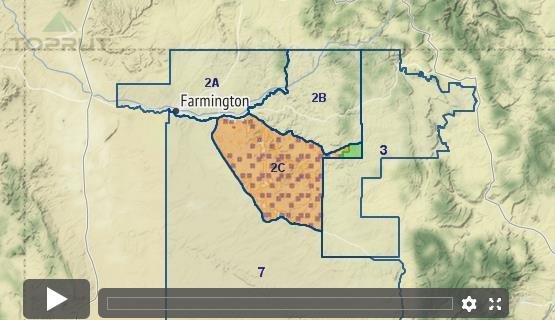 Unit 2b New Mexico Map.New Mexico Mule Deer Unit 2c Draw Odds Tag Information And More