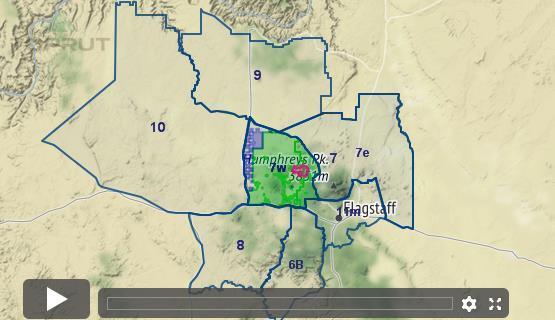 Unit 6a Arizona Map.Arizona Elk Unit 7w Draw Odds Tag Information And More