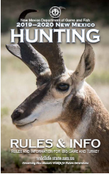 New Mexico 2019-2020 Hunting Regulations
